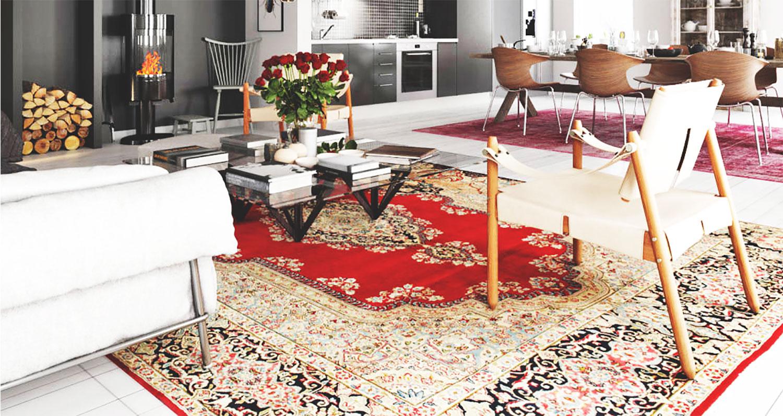 Tappeti orientali e persiani da produttore alla vostra for Arredamento tappeti